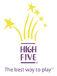 High Five Logo Colourjpg
